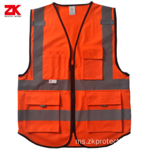 Hot selling EN ISO 20471 vest reflective